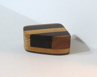 Trinket Box Made Of Four Woods