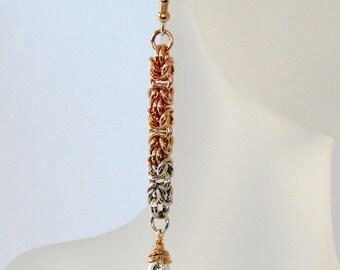 925 Sterling Silver Shoulder Duster Earrings Silver Earrings 14k Gold Filled Dangle Earrings Long Earrings Statement Earrings Gift For Her