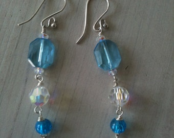 Blue-Sky Earrings