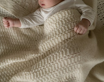 Morning Mist Baby Blanket Pattern - Baby Cakes by lisaFdesign - Download Now - Pattern PDF