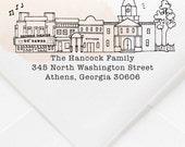 Athens, Georgia Custom Return Address Stamp
