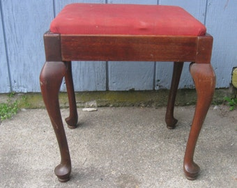 Items Similar To Sale Cottage Chic Style Stool Bench Seat