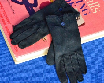 Vintage Evening Gloves in Black by Wear Right