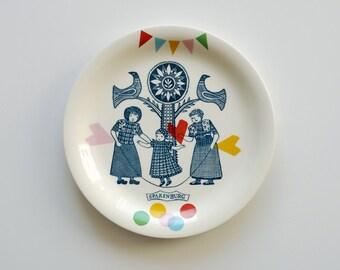 Folklore and fun breakfast plate 'Spakenburg'