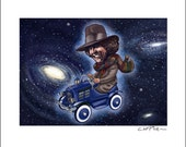 Dr. Who Pedal Car 8 x 10 Signed Print