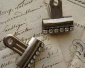 Vintage Industrial Bulldog Office Clip, Repurposed, Vintage Office, Industrial clip, Gifts for Him or Her, Gifts under 10, Boss Gift