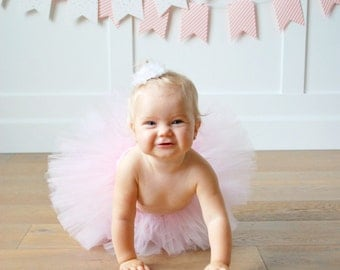 1st Birthday Outfit Tutu, Cake Smash Outfit Girl Tutu, First Birthday Tutu, 1st Birthday Tutu, Newborn Tutu, First Birthday Outfit Girl Tutu