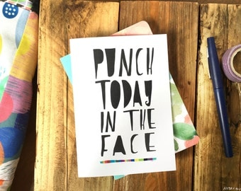 PUNCH TODAY greeting card cc101