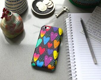 SALE: Hearts iPhone case