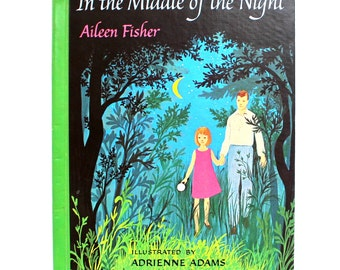 In the Middle of the Night Children's Book 1965 by Aileen Fisher