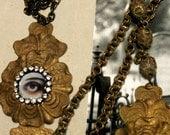 Vintage Stamping Lover's Eye, Theda Bara, Memento Mori