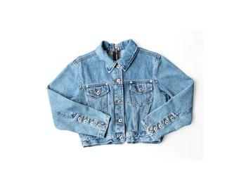 1990's Cropped Denim Jacket