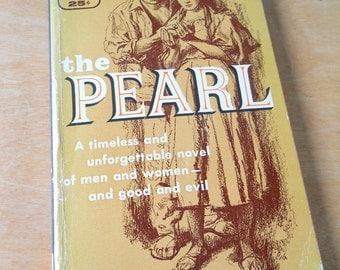 Vintage 1956 Paperback The Pearl • 1950s Steinbeck Bantam Books
