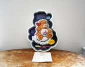vintage 1984 80s Care Bears Cake Pan W/Directions