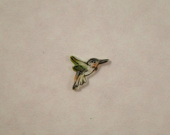 Tiny Hummingbird Embellishment