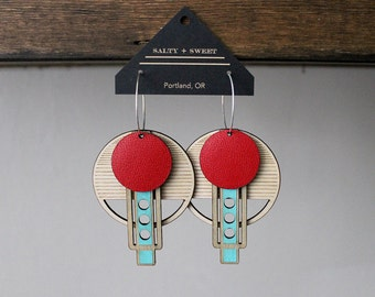 Laser cut earring | WRIGHT: Brights