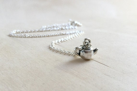 Tiniest Teapot Necklace