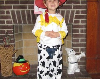 Jessie from Toy Story Costume. Size 2 to 6