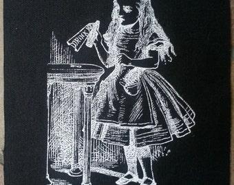 Alice in Wonderland DRINK ME patch