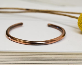 copper cuff, cuff, copper jewelry, copper, recycled, recycled metal, bracelet, copper bracelet, stacylynnc, handmade
