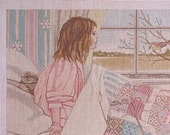 Needlepoint Designs Handpainted Canvas Colors Match DMC Threads Tags included