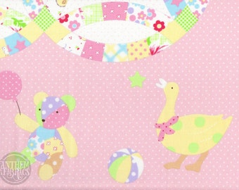 Baby Quilt Panel - Quilter's First 2015 - LECIEN L31229-20 Pink - 1 Panel