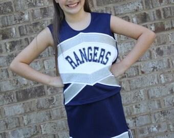 Victory Cheerleading Uniform PDF Sewing Pattern Sizes 1/2- 16