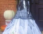 Halloween Costume Gothic Wraith Bridal Gown SALE