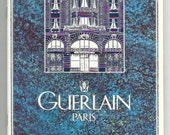 Vintage Brochure GUERLAIN, PARIS - Mint 30 pages- PERFUMES & Cosmetics products -1992 Prices in French Francs - Bottles, compacts ...designs