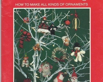 Crafts from Current - Homemade Tree Trimmings - How to Make all Kinds of Ornaments - MB009