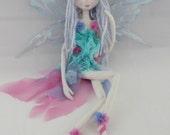 The Original Kaerie Faerie Soft Sculpture art doll, handmade in the USA