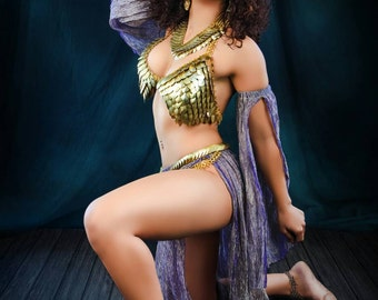 The Bellydancer-Scalemaille costume set (special price)