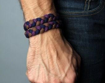 Brother Gift, Yoga Bracelet, Burning Man, Wrap Bracelet, Gift, Anniversary Gifts, Hipster, Boho Jewelry, Groomsmen Gift, Bohemian Jewelry