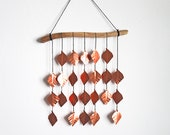 Very Copper Drops, wall hanging, hanging mobile, housewarming gift, home decor