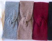 Twist headband- Ear Muff- Ear Warmer- Gift For Her- Women's Gift- Winter Accessories- Winter Headband- Knit Twist Turban Headband- Turband