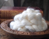 Bamboo Viscose Roving Undyed Combed Top for Felting or Spinning Cellulose Vegan Fiber