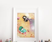 The Fairy Godmother 11/50 - Deluxe Edition Print