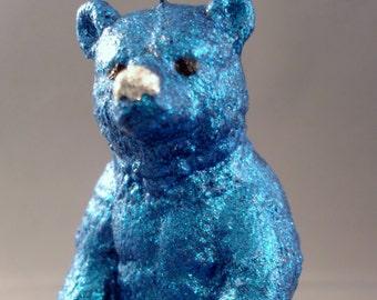 Glitter Menagerie Bear Ornament
