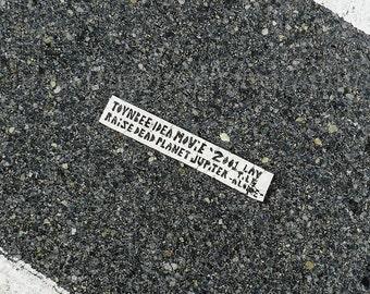 Philadelphia Photography, Street Art, Toynbee Tile Print, City Street Photography, Urban Art Print, Black & White Wall Art, Urban Decor