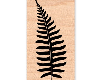 FERN Rubber Stamp~FERNS~Fern Silhouette Stamp~Solid Image Stamp~Card Making Supplies-Art Craft Stamps by Mountainside Crafts (34-17)