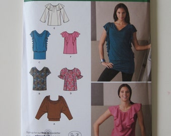 Simplicity 2554 Misses' Pullover Blouse Pattern