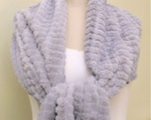 Wedding Shawl Bridal Cover Up Shoulder Wrap  Shrug Grey Gray  Faux Fur Stole Bridesmaids Shawls plus size