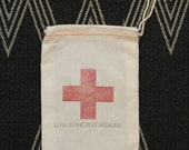 Love is the Best Medicine: Favor Bag for Weddings, Parties and Events