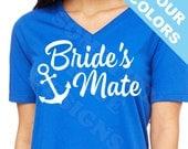 FREE SHIP Bride's Mate Anchor Shirt