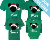 Family Mickey Minnie Vacation Christmas Shirts. Disney Family Shirt. Disney Vacation Shirt. Disney Christmas Shirt. Very Merry Christmas.