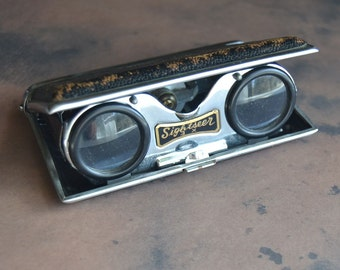 Vintage Sightseer 3X Folding Binoculars