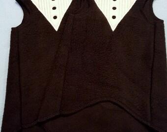 Bow Tie Tux - Sphynx Cat Clothes TANK