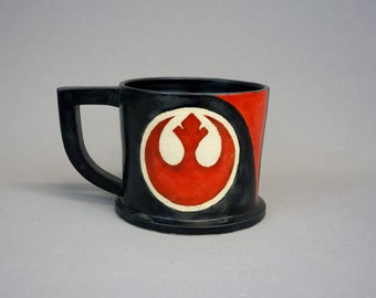 Poe Dameron Rebel Alliance Star Wars Coffee Mug