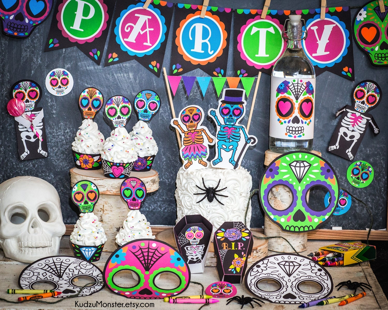 Sugar Skull Bathroom Decor Sugar Skull Print Etsy