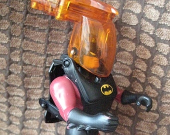 BATMAN INFRARED Action Figure loose complete with Launching Bat Signal Disks, Fabric Cape 1993